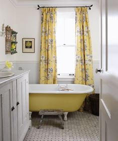 Petite salle de bain champêtre Sarah