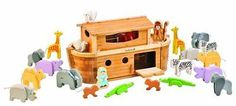 EverEarth Giant Bamboo Noah's Ark and Animals, New