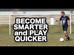 These 5 tips will increase your speed of play, quality of decision making, and confidence on the ball: https://www.youtube.com/watch?v=Ql_MroZqCUE