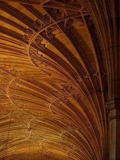 Interior, Wills Memorial Building, Bristol University