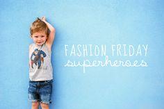 Sweet Little Peanut | Fashion Friday | Junk Food line by #gapkids | vintage superheroe tanks for boys!