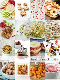 25 Healthy Snacks - The Idea Room