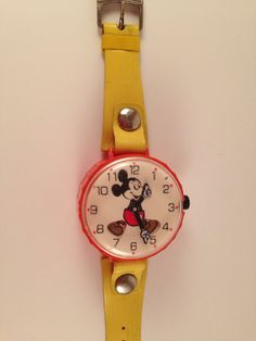 Mickey Mouse watch Marx mickey mouse vintage by Bottleartstudio, $16.00