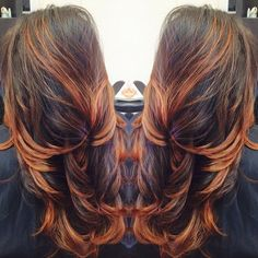Copper #balayage  I KNOW THIS IS MORE NORMAL THAN THE USUAL HAIR I HAVE ON HERE BUT THIS IS SIIIIIIICCCCKKKKK!!
