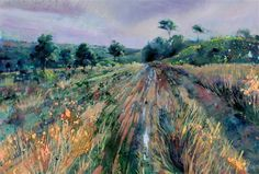 lorna holdcroft paintings | Lorna Holdcroft - Evening on the Forest - Artists