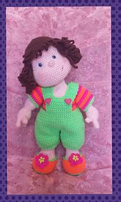 Ravelry: Matilda - Basic doll with CROCHETED clothing pattern by Sharonlee Holder