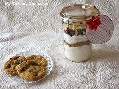 My Culinary Curriculum: Kit cookies cranberries et pépites de chocolat bla...