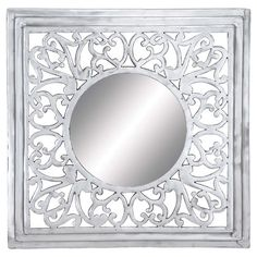 Bring eye-catching style to your home decor with this charming design, artfully crafted for lasting appeal.  Product: Wall mirro...