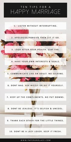 Or just do these things and be a good person (except for No. 10 this applies in every situation)