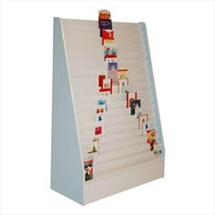 C30 18 Tier Fixed End Greeting Card Display Stand
