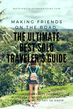 If you want to see the world and love the idea of sharing new experiences and making memories, then doesn't matter if you are alone. Solo travelling is possible. Day Hike, Greatest Adventure, Travel Alone, Making Memories, Getting To Know You, Solo Travel, Travel Guide, Traveling By Yourself, Knowing You