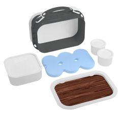 Faux Wood Pattern Lunchbox