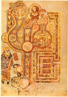 Livre de Kells — Wikipédia