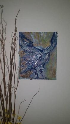 Resin art on gallery wrapped Canvus! A woman breaking free, looking up to the sky Vine And Branches, Up To The Sky, Break Free, Resin Art, Female Art, Color Mixing, Wrapped Canvas, Abstract Art, My Etsy Shop
