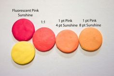 New Color Tuesday! by Syndee Holt | Florescent Pink & Sunshin