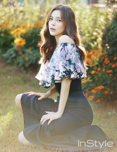 2014.10, InStyle, Park Si Yeon