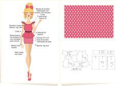 Coleção Projeto V - Verão 2014/15 Público Teen - Croquis com estampa e modelagem