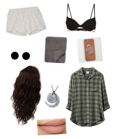 """""""He's My Ride Or Die"""" by rosie-mcfadden on Polyvore featuring RVCA, MM6 Maison Margiela, Calvin Klein, Skin, WigYouUp and Mélange Home"""