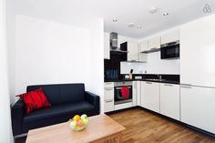 Apartment in Greater London, United Kingdom. This flat has been listed on Airbnb for over two years now and has consistently had rave reviews.  It's in a modern, bright complex with amazing views of London from the balcony.  It's also practically on top of a major underground station!  The a...