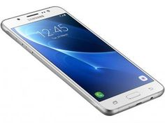 "Smartphone Samsung Galaxy J7 Metal 16GB Branco - Dual Chip 4G Câm 13MP + Selfie 5MP Flash Tela 5,5"""