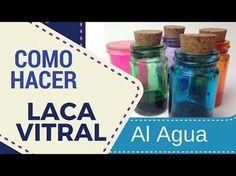 Cómo hacer lacas vitrales al agua | Manualidades
