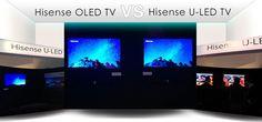 Hisense presenta en la CES el ULED TV de siguiente generación que competirá con el OLED TV