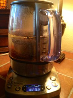 Breville Tea Maker.   Did you know that different teas should be brewed with different water temperatures and a different steeping-time?   The Breville Tea Maker has different settings for temperature and time… making the perfect cup of tea every time