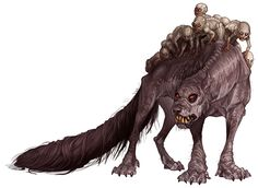 Succarath (Patagonian) - Strange psionic creatures with powerful psychic abilities. Their young look almost humanoid and these vile creatures aren't above using their own cubs as cannon fodder or to enhance their own psychic abilities as they can sacrifice their own young to enhance their psychic powers.