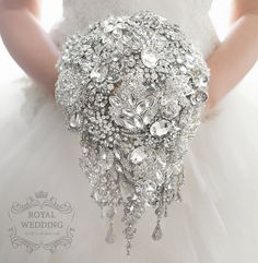 Crystal Brooch Bouquet Bridal Bouquet от RoyalWeddingDecore