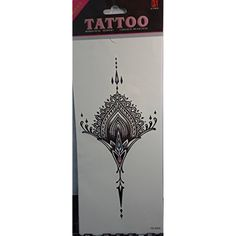 Tattoo stikcers for ladys'chest Jewelry design *** Details can be found by clicking on the image. (This is an affiliate link) #TemporaryTattoos