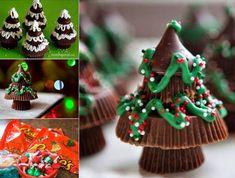 Easy Homesteading: Reeses Peanut Butter Christmas Trees DIY