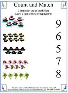 math worksheet : 1000 images about preschool worksheets on pinterest  five little  : Nursery Maths Worksheet
