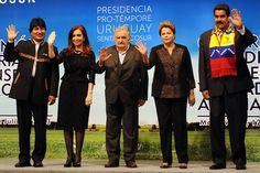 Vino y girasoles...: América latina: A los pueblos los están invitando ...