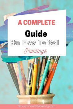Sell Paintings Online, Selling Paintings, Artwork Online, Selling Art Online, Online Painting, Your Paintings, Online Art, Artist Workspace, Where To Sell