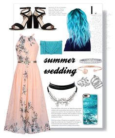"""my summer wedding"" by liiz-valenzuela on Polyvore featuring moda, WithChic, Kate Spade, Belk Silverworks, Cole Haan, Casetify y Elena Ghisellini"