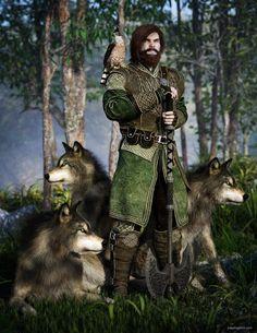 Wolf Brother by JoePingleton on DeviantArt Fantasy Book Series, Fantasy Books, Fantasy Artwork, Wheel Of Times, Wheel Of Time Books, League Of Extraordinary, Robert Jordan, Howard The Duck, Fantasy Figures