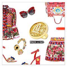"""Anastazio-pack and go:Cuba"" by anastazio-kotsopoulos ❤ liked on Polyvore featuring Dolce&Gabbana, Anastazio and MAC Cosmetics"