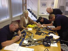 Lloyd Smith from our valued PPE supplier partner has been delivering PPE inspection training today to members of the Test and Inspection team at Eurosafe.