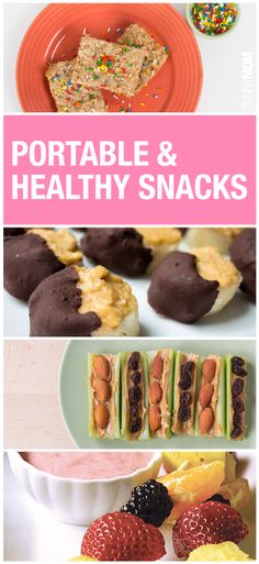healthy snacks to take on-the-go.