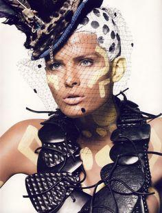 Model: Isabeli Fontana Photographer: David Sims