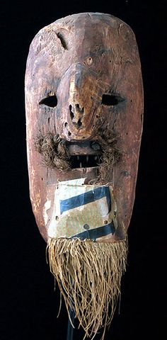 African Mystery mask