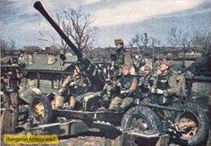 Bofors magyar kezelőkkel. War Dogs, Defence Force, Rest Of The World, World War Two, Hungary, Ww2, Battle, Monster Trucks, Guns