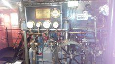 Stoommachine in het Marinemuseum Den Helder  http://maaikezijm.com/2014/02/20/industriele-revolutie-stoommachine/