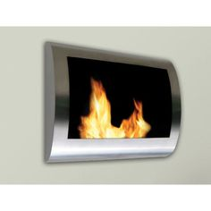 Anywhere Fireplace Chelsea Indoor Wall Mount Fire Place