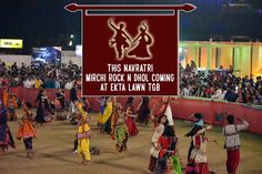 Mirchi Rock n dhol navratri, TGB, Stay tuned for passes. Date : 2nd to 10th October Location : Ekta Lawns, The Grand Bhagwati, Dumas Road, Surat. STAY TUNED FOR THE PASSES.  Contact : 9886347185 #Events #Navratri #CityShorSurat