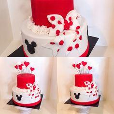 Minnie mouse cake design Minnie