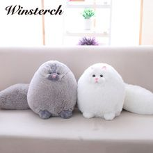 Hot Fat Cats Persian Cat Toys Plush Pillow Toys Soft Stuffed Animal Plush Dolls Peluches Gifts Kids Brinquedos - Kids Pillows - Ideas of Kids Pillows Cute Pillows, Kids Pillows, Sleeping Kitten, Felt Owls, Super Cat, Gifted Kids, Plush Animals, Fat Animals, Fat Cats