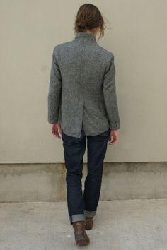 blazers and imogen+willie jeans #dreamindenim