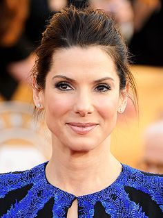 Sandra Bullock--absolutely my FAVORITE. She is incredible, both as an actress and a person.