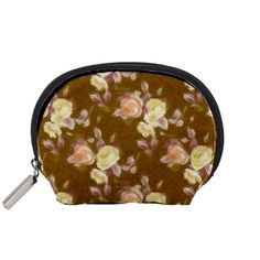 Vintage+Roses+Golden+Accessory+Pouches+(Small)++Accessory+Pouch+(Small)